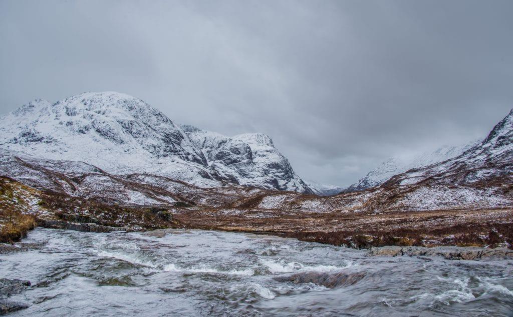 Glencoe in winter
