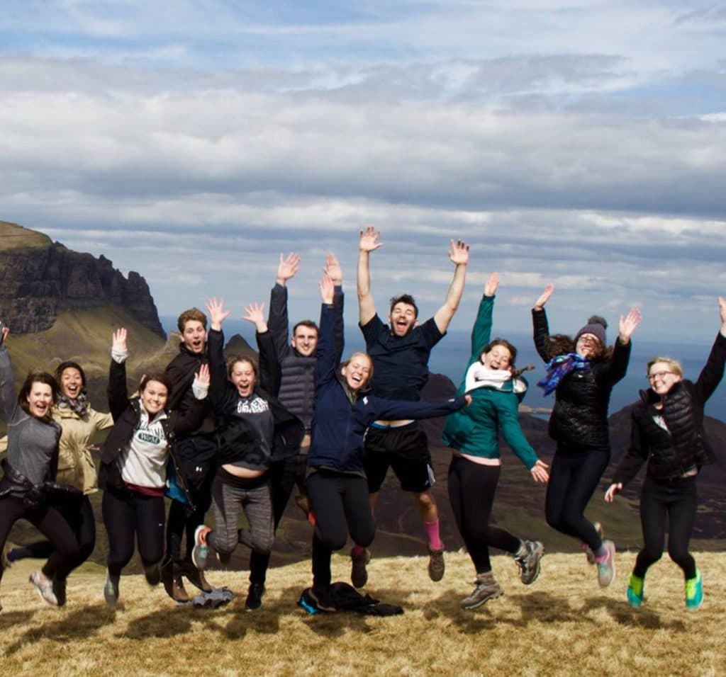 Isle of Skye tour for international students