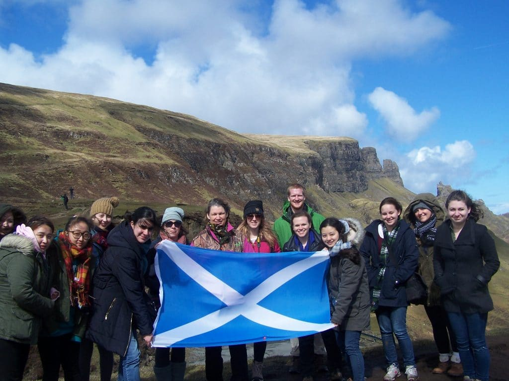 Isle of Skye for international students