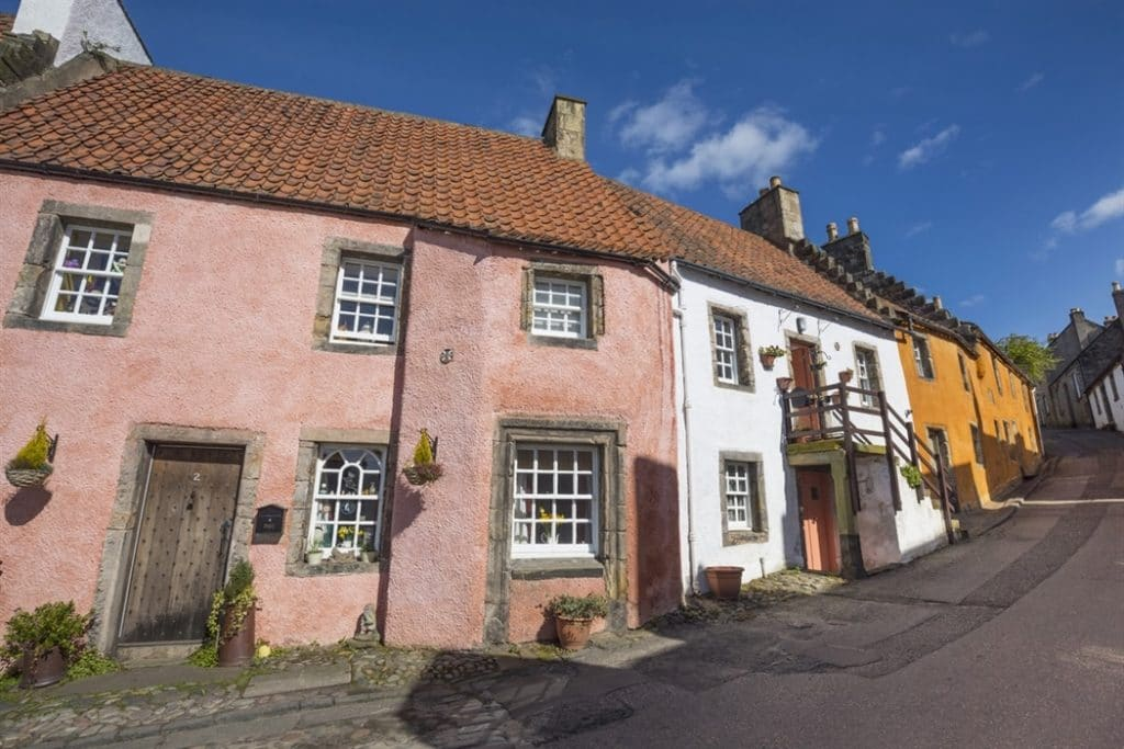 Out tour to Culross