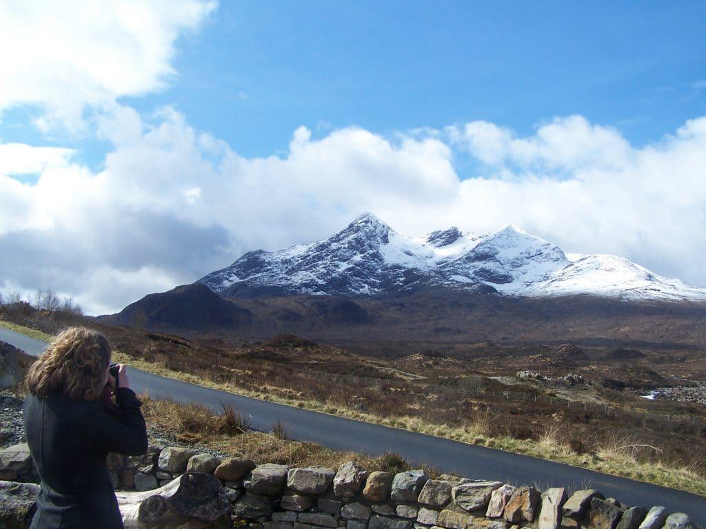Island of Skye in winter