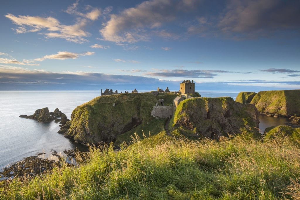 Dunnottar Castle on our castle tours
