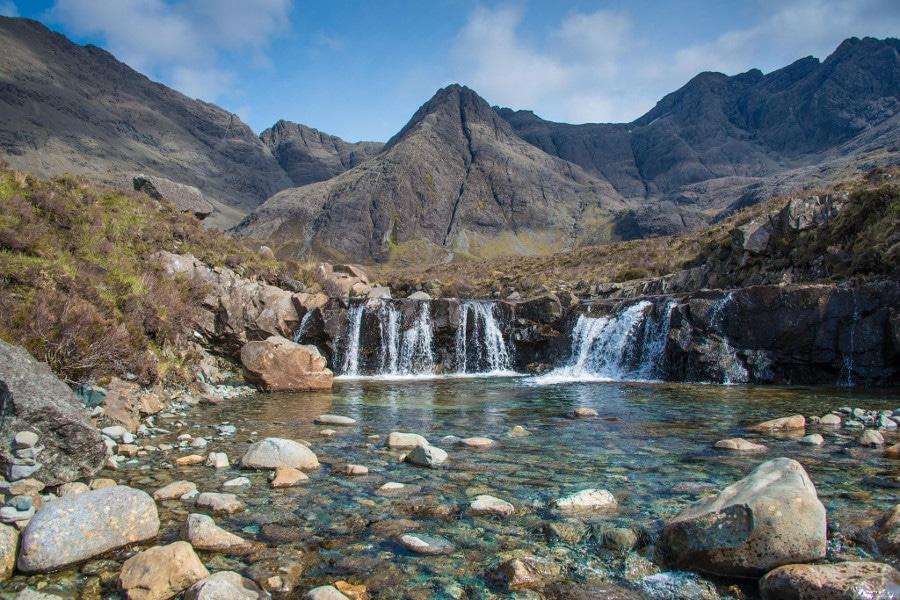 The Fairy Pools Isle Of Skye Coach tours