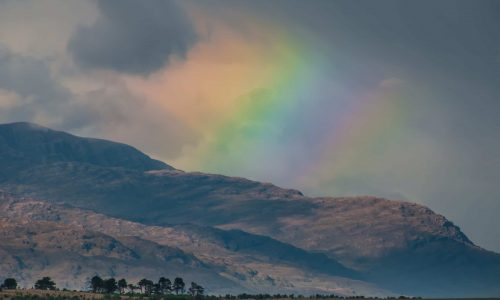 Rainbow on the Isle of Skye