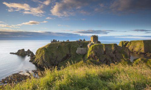 Dunnottar Castle near Aberdeen